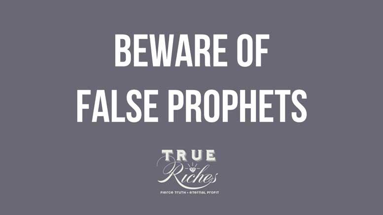 VIDEO TEACHING: Beware of False Prophets