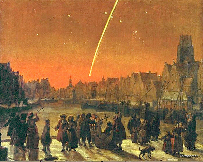 Verschuier-The Great Comet of 1680-733179
