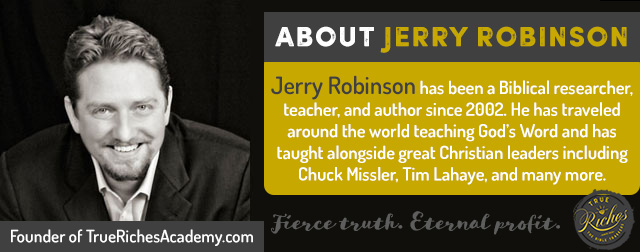 About Jerry Robinson