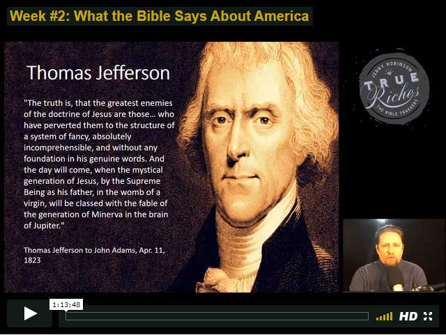 TEACHING: Is America a Christian Nation?