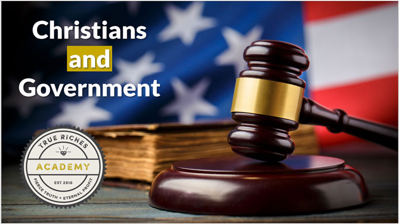 VIDEO TEACHING: Christians and Government