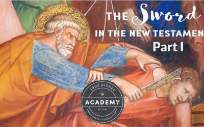 The Sword in the New Testament: Part 1 – A Teaching by Jerry Robinson